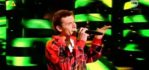 Kamil Bednarek w finale Mam Talent!