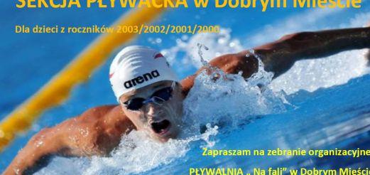 Zapisy do sekcji pływackiej w Dobrym Mieście