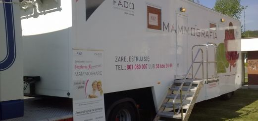 Bezpłatna mammografia w powiecie olsztyńskim