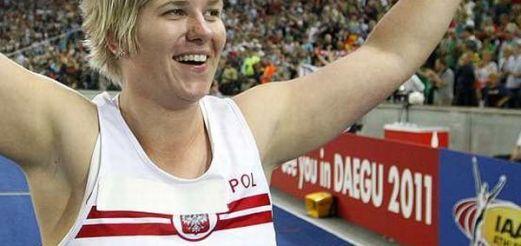 Anita Włodarczyk w Dobrym Mieście