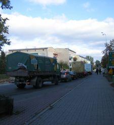 Grzymowicz chce poprowadzić ruch tirów przez Dobre Miasto