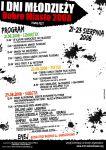 Program  I Dni Młodzieży - Dobre Miasto 2008